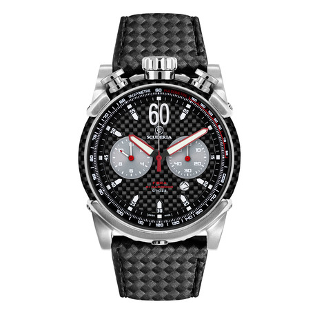 CT Scuderia Fibra Di Carbonio Chronograph Quartz // CS10131