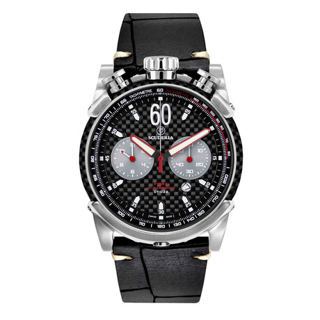 CT Scuderia Fibra Di Carbonio Chronograph Quartz // CS10158