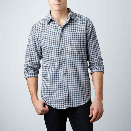 Bo Flannel Shirt // Gray (S)