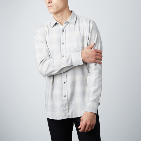 Nelson Flannel Shirt // Natural