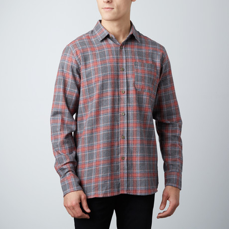 Orlando Flannel Shirt // Gray (S)