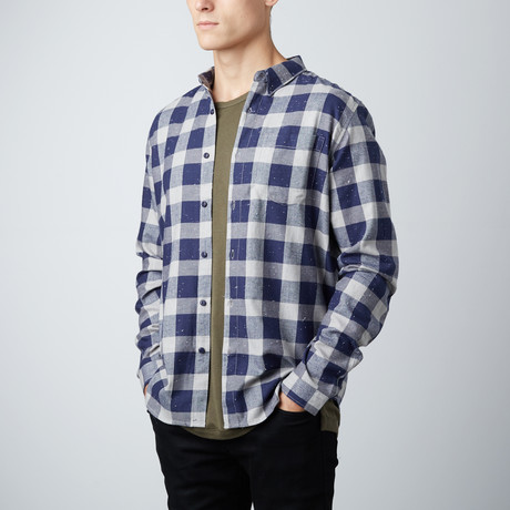 Leonard Shirt // Navy (S)