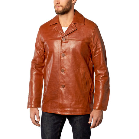 Leather Car Coat // Ranch