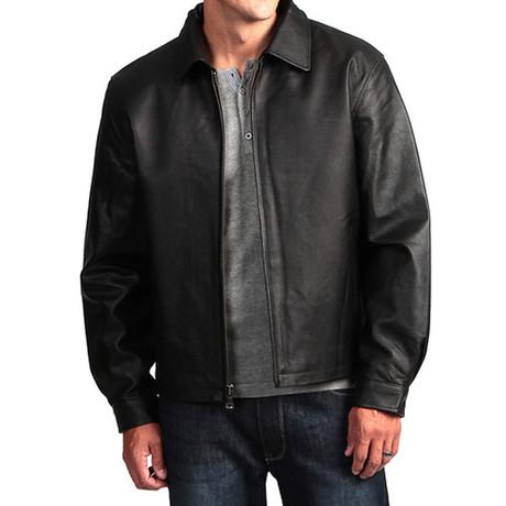 The Basic Black Leather Jacket