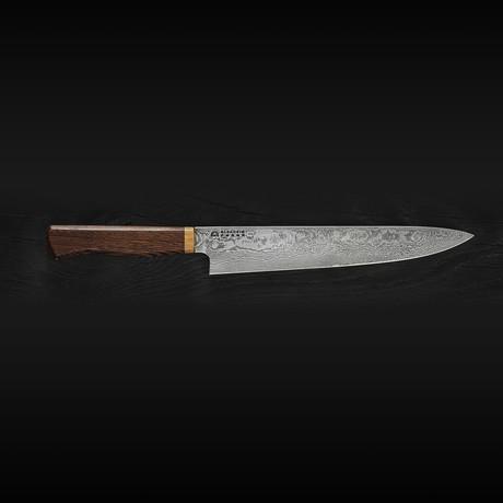 Slicer // Carbon Steel Damascus