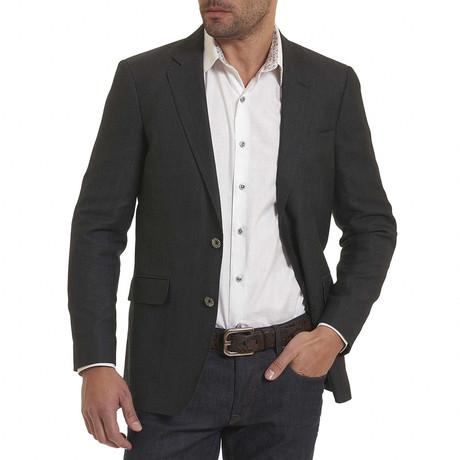 Quinn 2 Woven Sportcoat // Black (US: 44R)