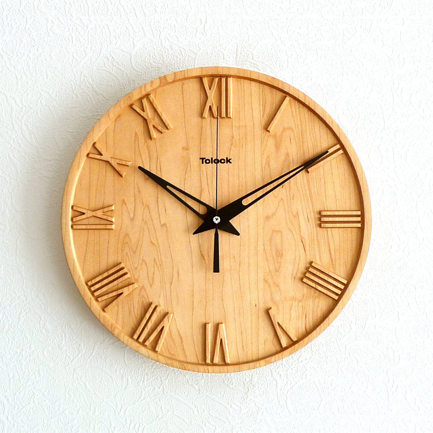 Rome wall clock tclock touch of modern for Touch of modern clock