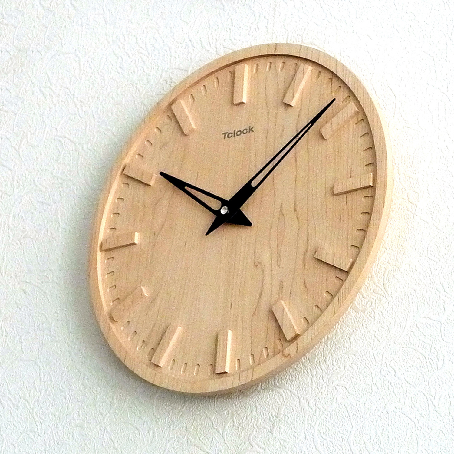 Rails wall clock tclock touch of modern for Touch of modern clock