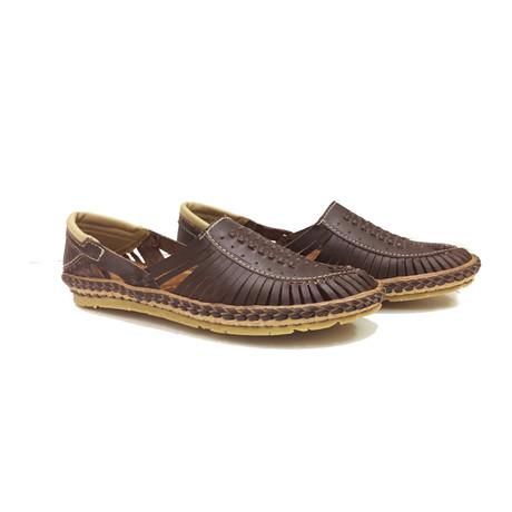 Aristo Sandals // Brown