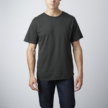 Brando Tee 2-Pack // Dusty Black