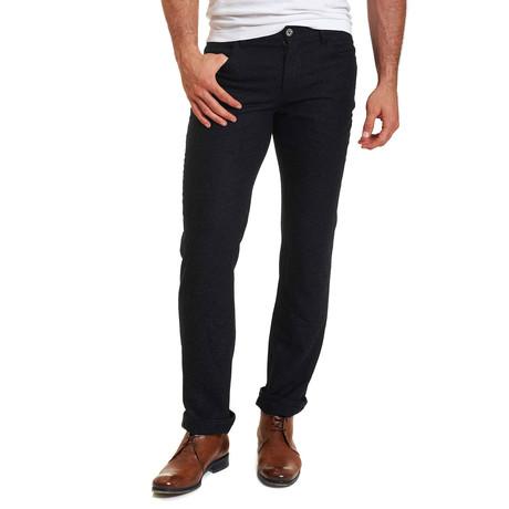 Lucian Woven Pant // Black