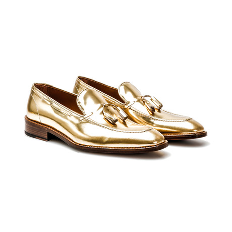 Romeo Tassel Loafer // Gold (Euro: 41)
