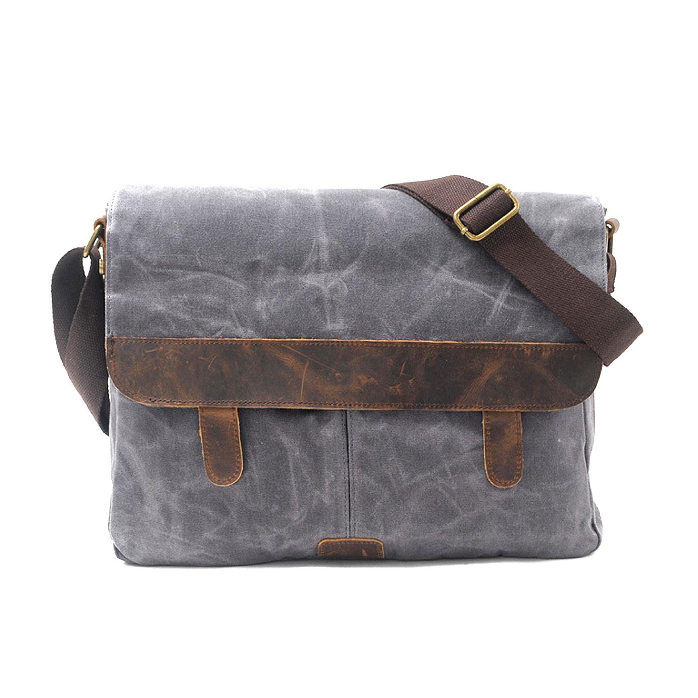 739 Canvas Messenger Bag Khaki