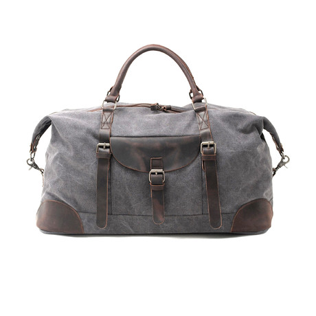 No. 740 Canvas Duffle Bag (Black)