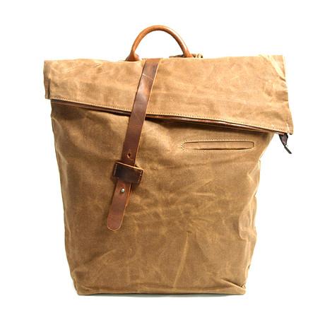 No. 752 Canvas Backpack (Khaki)