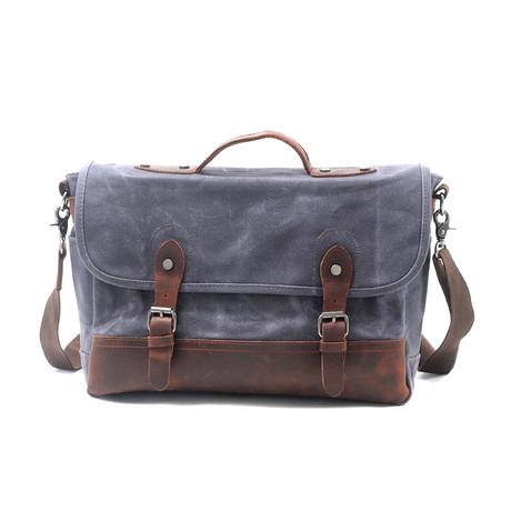 No. 759 Canvas Messenger Bag (Khaki)