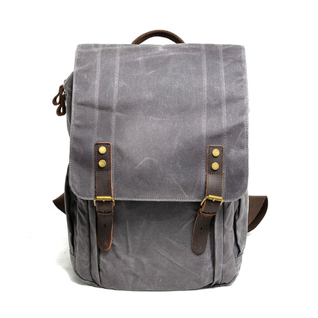 No. 765 Canvas Backpack (Black)