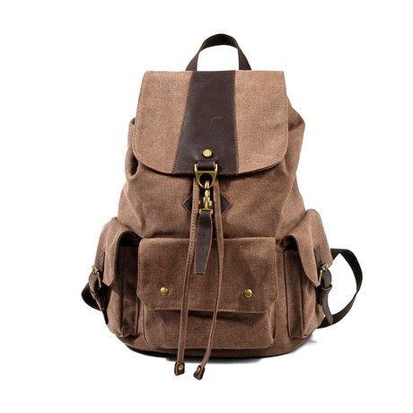 No. 768 Canvas Backpack (Grey)