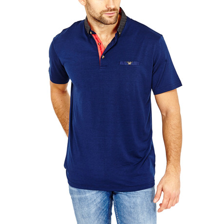 Sean Polo Shirt // Navy (S)