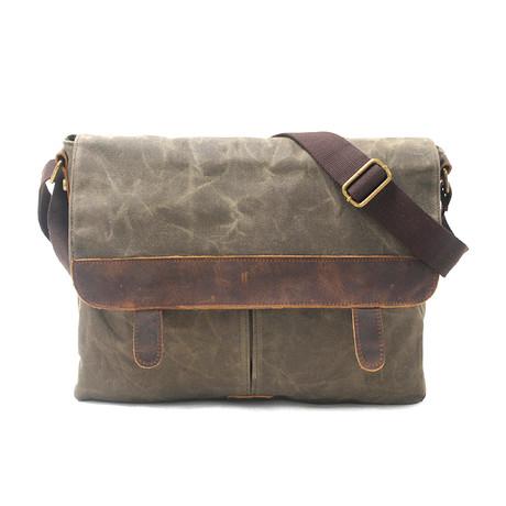 No. 736 Canvas Camera Bag (Khaki)