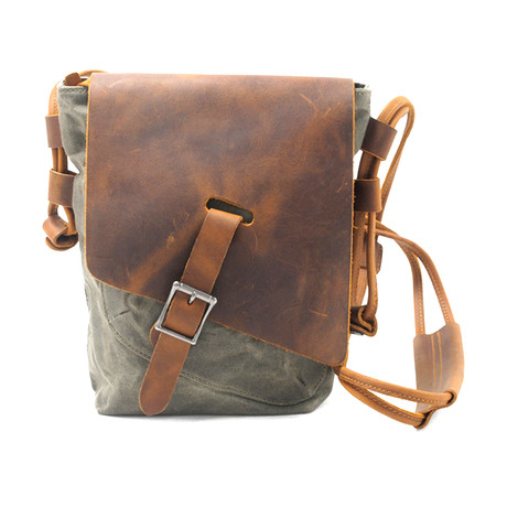 No. 762 Sling Bag (Khaki)