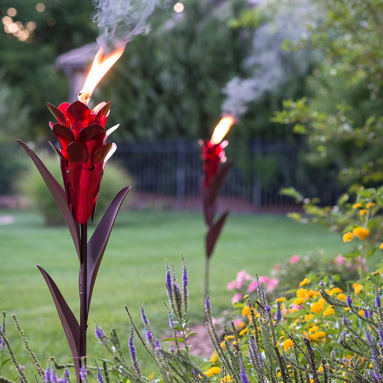 Ginger Garden Torch Desert Steel Touch Of Modern
