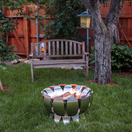 Tanami Fire Pit // Stainless Steel