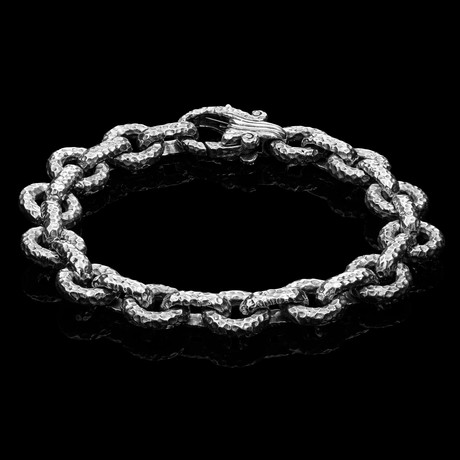 "Stronghold Bracelet // Stainless Steel (7.5"")"