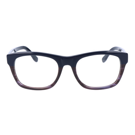 Unisex L2739 Optical Frames // Blue + Striped