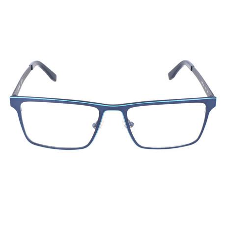 Men's L2199 Optical Frames // Matte Blue