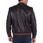 Loft Leather Jacket // Brown (3XL)
