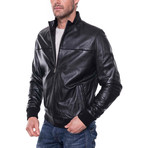 Yips Leather Jacket // Black (L)