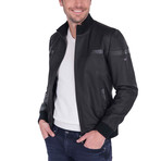 Index Leather Jacket // Black (L)