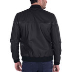 Index Leather Jacket // Black (3XL)