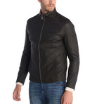 Transition Leather Jacket // Brown (L)