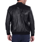 Spin Leather Jacket // Black (L)