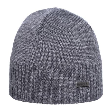 Ben XL Wool Blend Beanie // Grey Melange