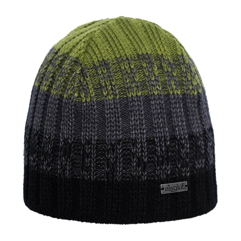 Reno Wool Blend Beanie    Black + Wild Lime - Eisglut - Touch of Modern b224e7a96636