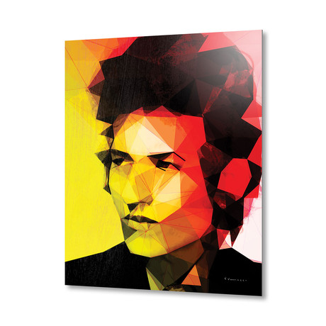 Dylan // Aluminum Print