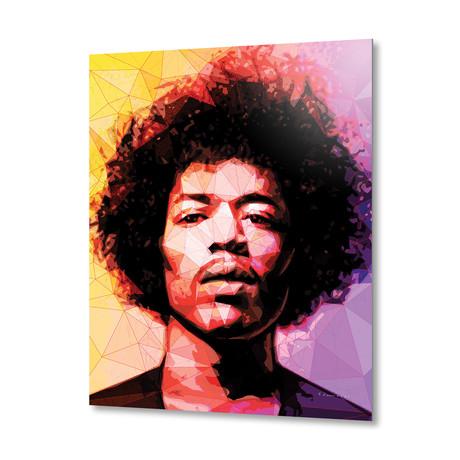 Hendrix // Aluminum Print
