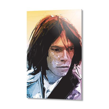 Neil-Young // Aluminum Print