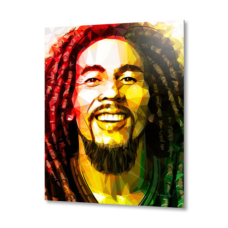 Bob Marley // Aluminum Print