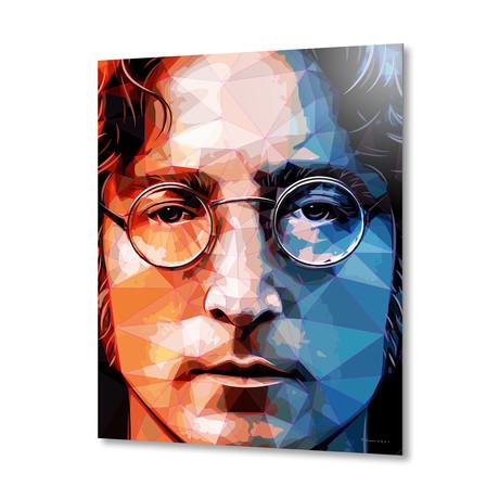 John Lennon Portrait // Aluminum Print