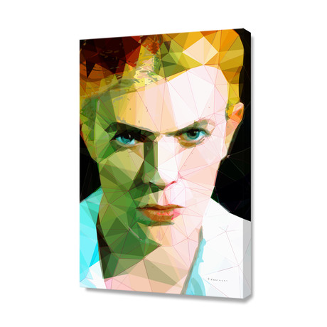 Bowie // Stretched Canvas