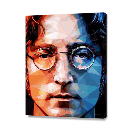 John Lennon Portrait // Stretched Canvas