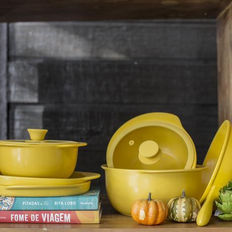 Oxford Professional Grade Ceramic Cookware // Set of 5 (Blue)