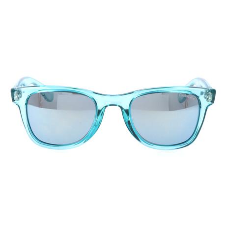 Clear Wayfarer // Turquoise