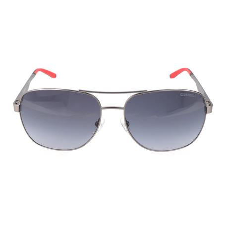 Square Metal Aviator // Silver