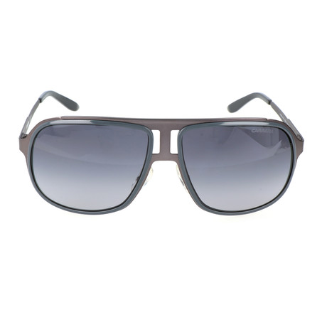 Metal Frame Aviator // Silver + Grey