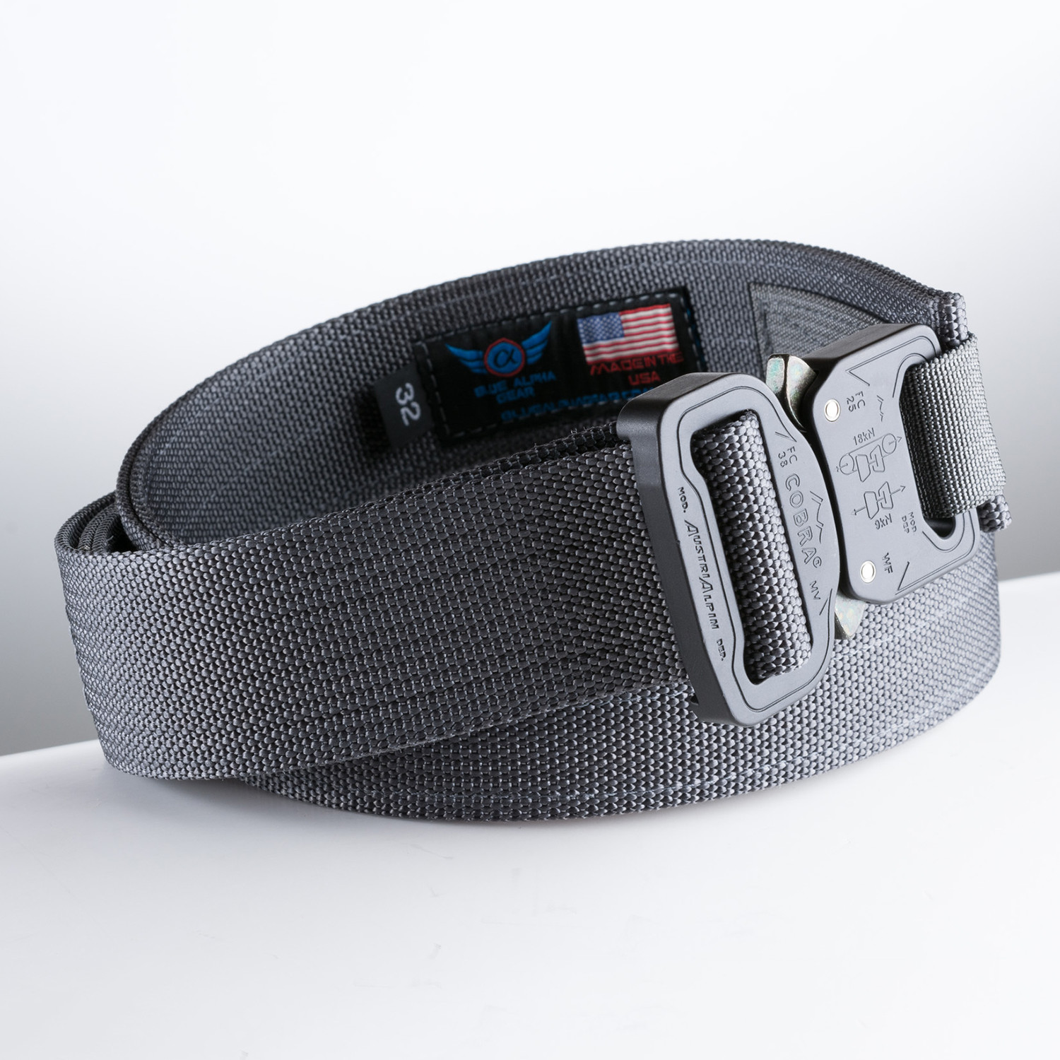 4895fb4415878 Hybrid EDC Belt // Wolf Gray (34